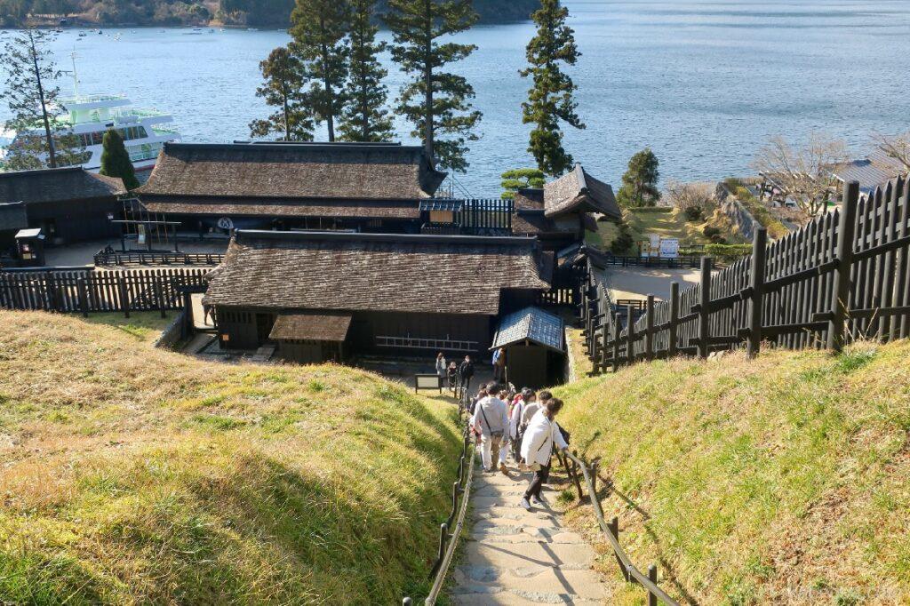Tangga batu di Hakone Sekisho