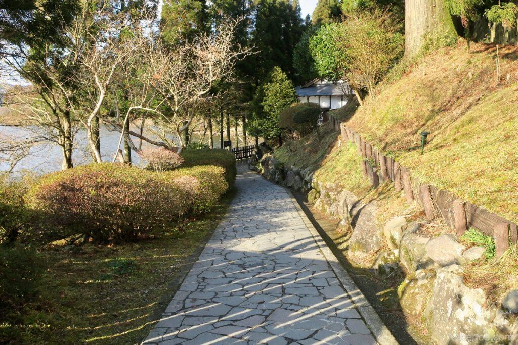 Jalan menuju Museum Hakone Sekisho