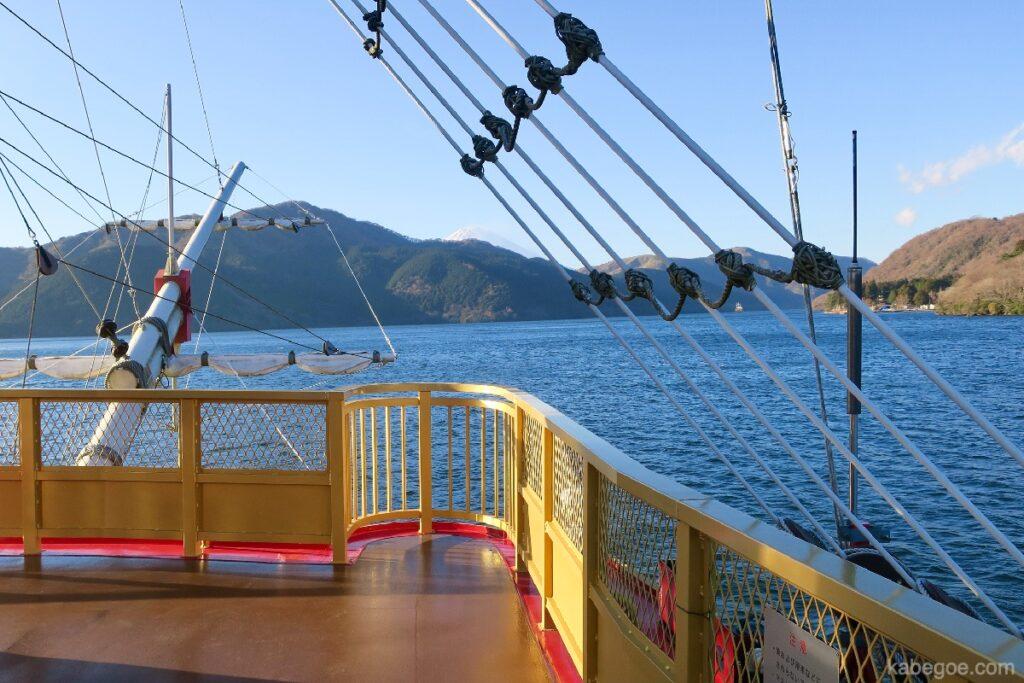 Dek Kapal Bajak Laut Hakone