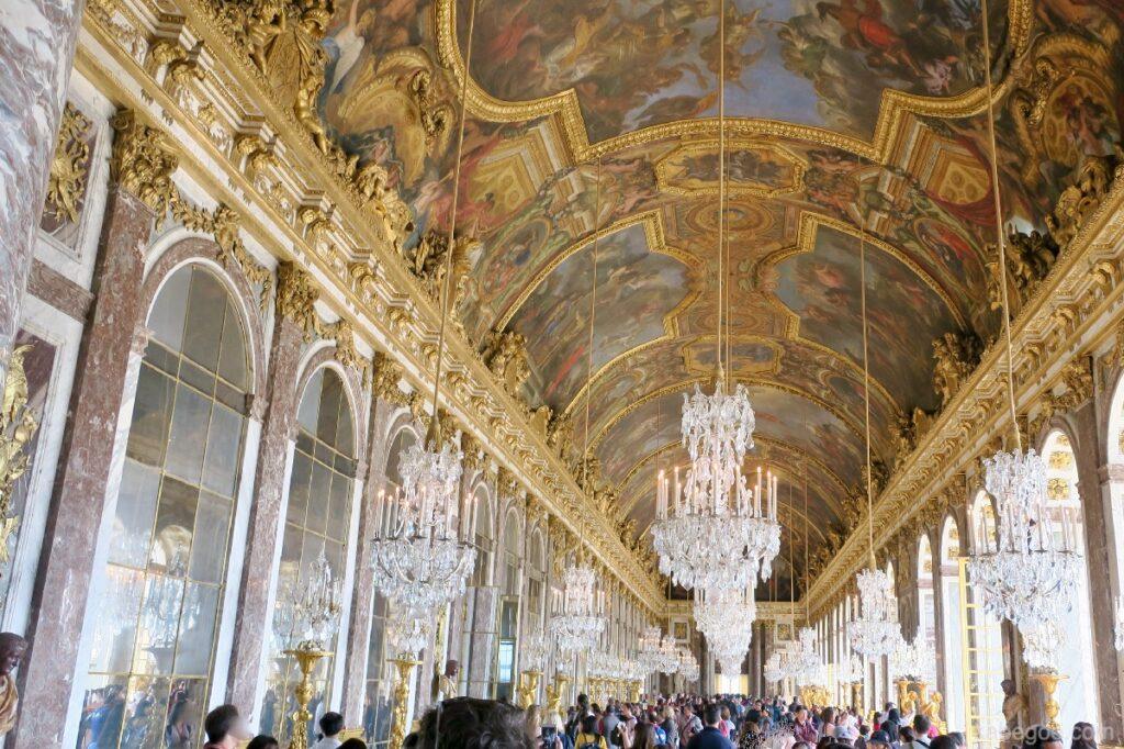 Sala degli Specchi nel Palazzo di Versailles