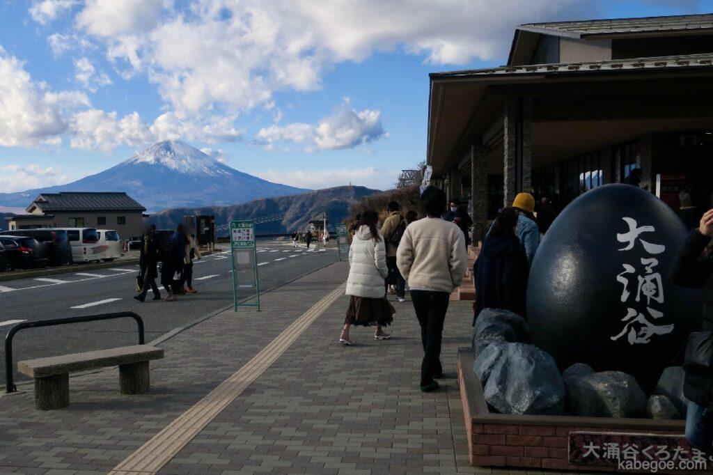 Owakudani dan Gunung Fuji