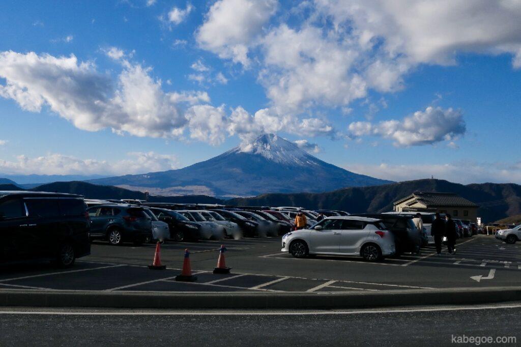 Tempat parkir Owakudani