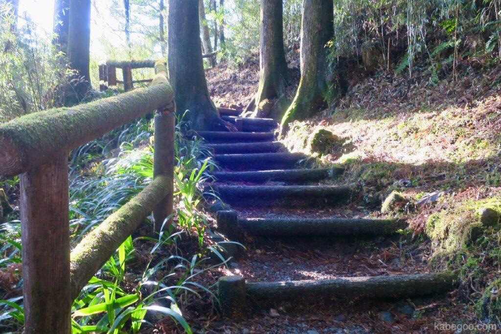 Jalan di Taman Hakone Onshi