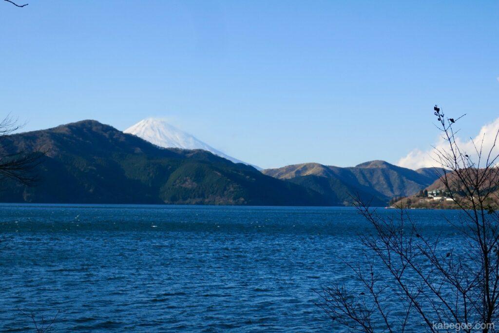Pemandangan dari Taman Hakone Onshi