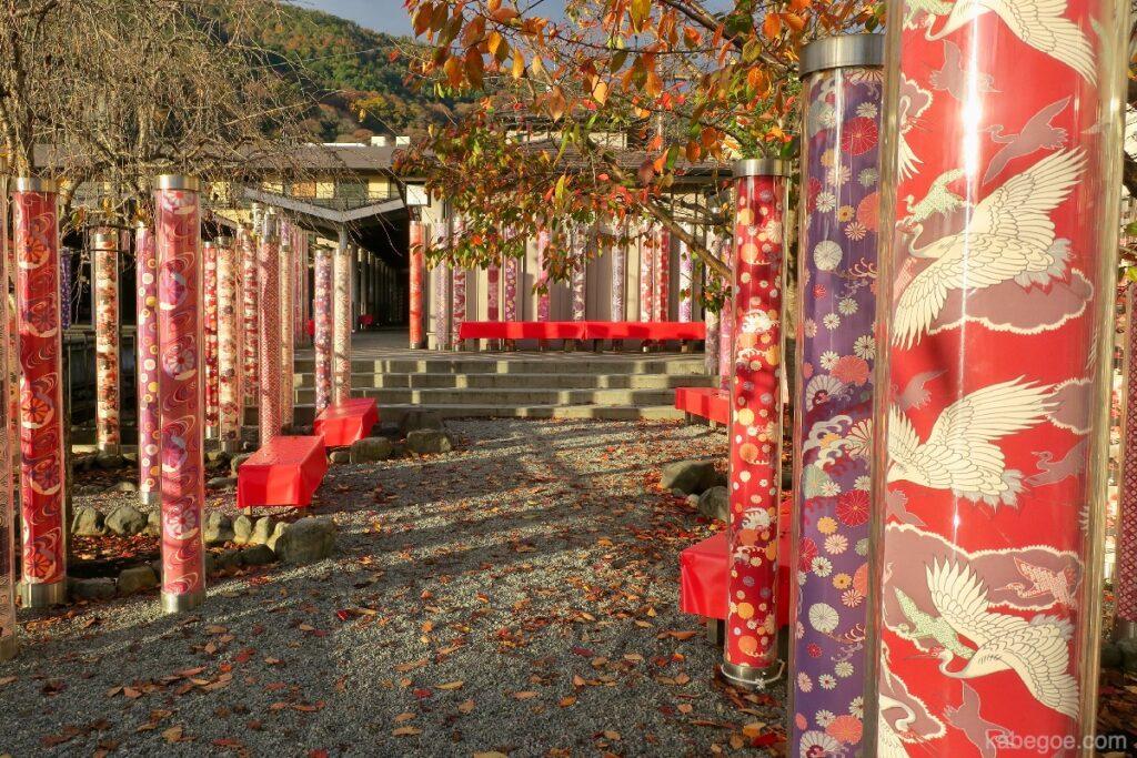 Kimono Forest alla stazione di Arashiyama