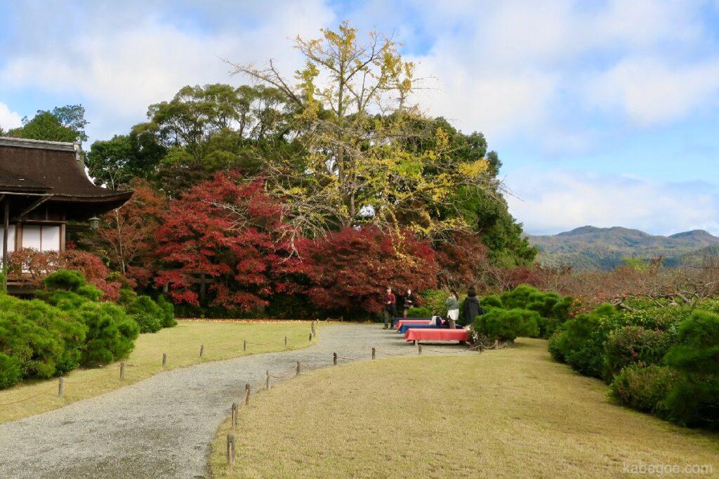 大河内山荘庭園の風景