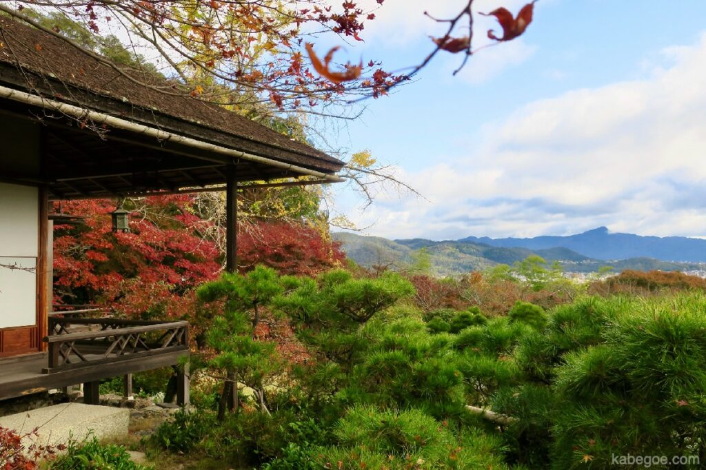 大河内山荘庭園の景色