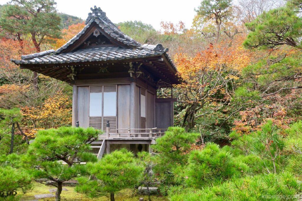 大河内山荘庭園の持仏堂
