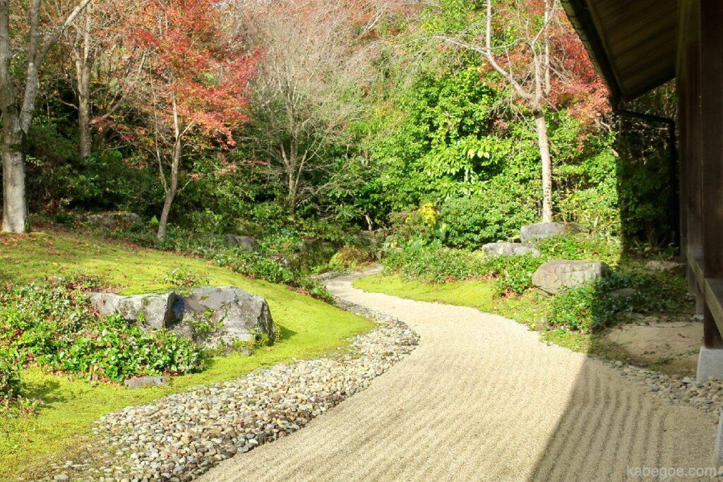 大河内山荘庭園の庭