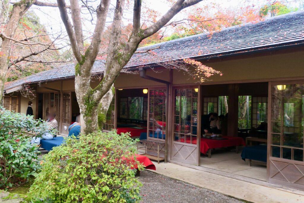 大河内山荘庭園の茶室