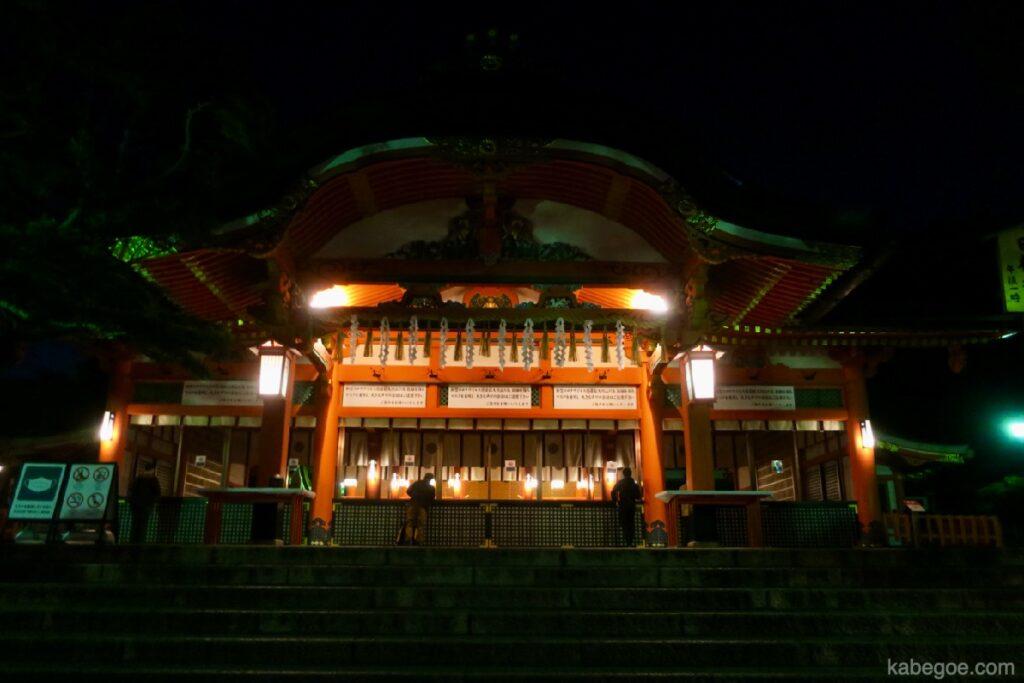 Il santuario principale di Fushimi Inari Taisha