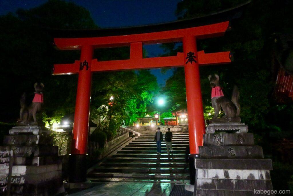 I recinti del Santuario Fushimi Inari Taisha