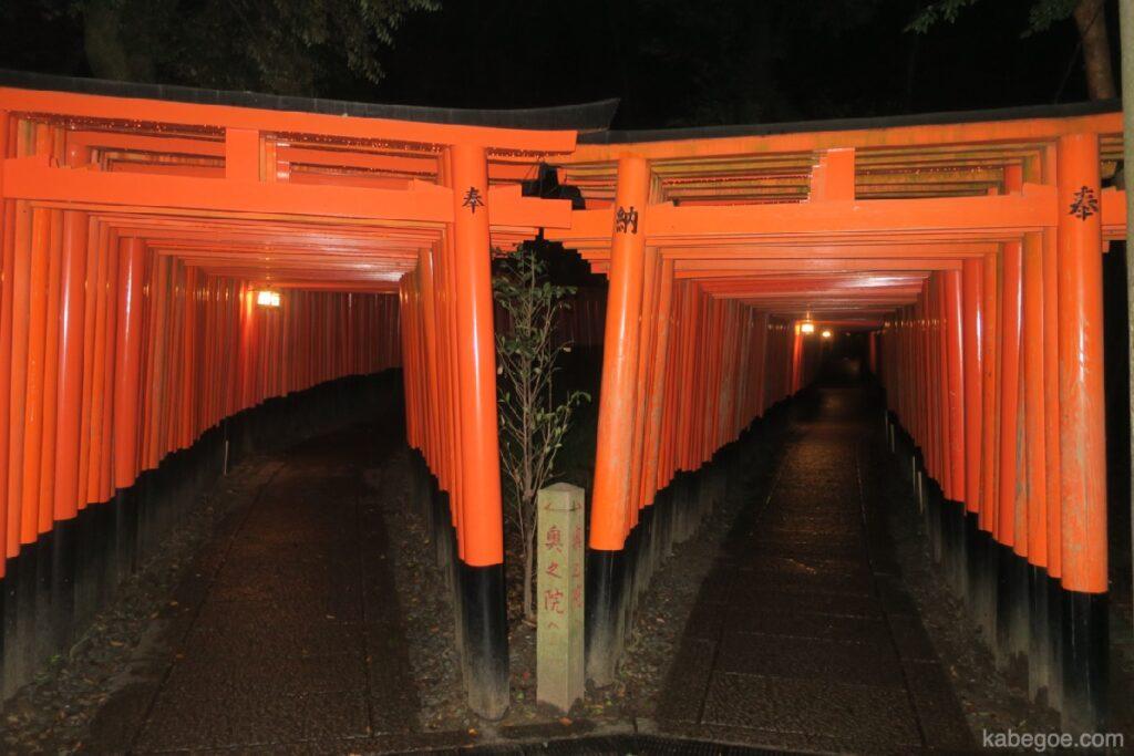 Senbon Torii del Santuario Fushimi Inari Taisha