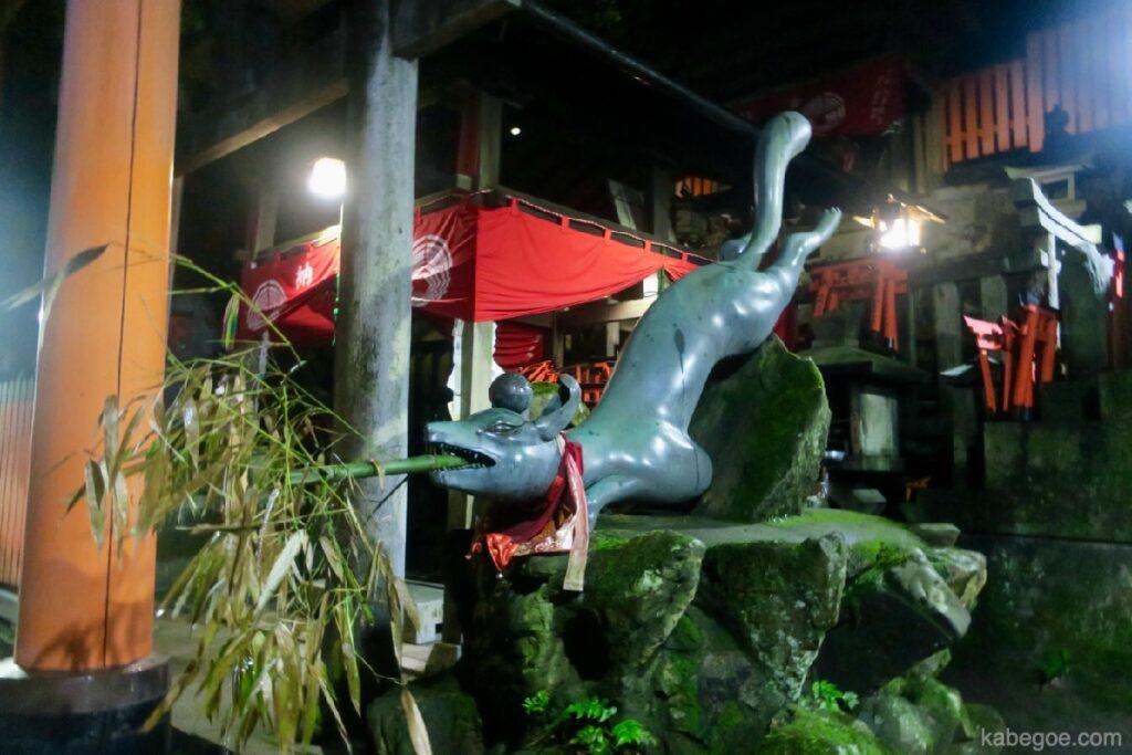 Fushimi Inari Taisha volpe