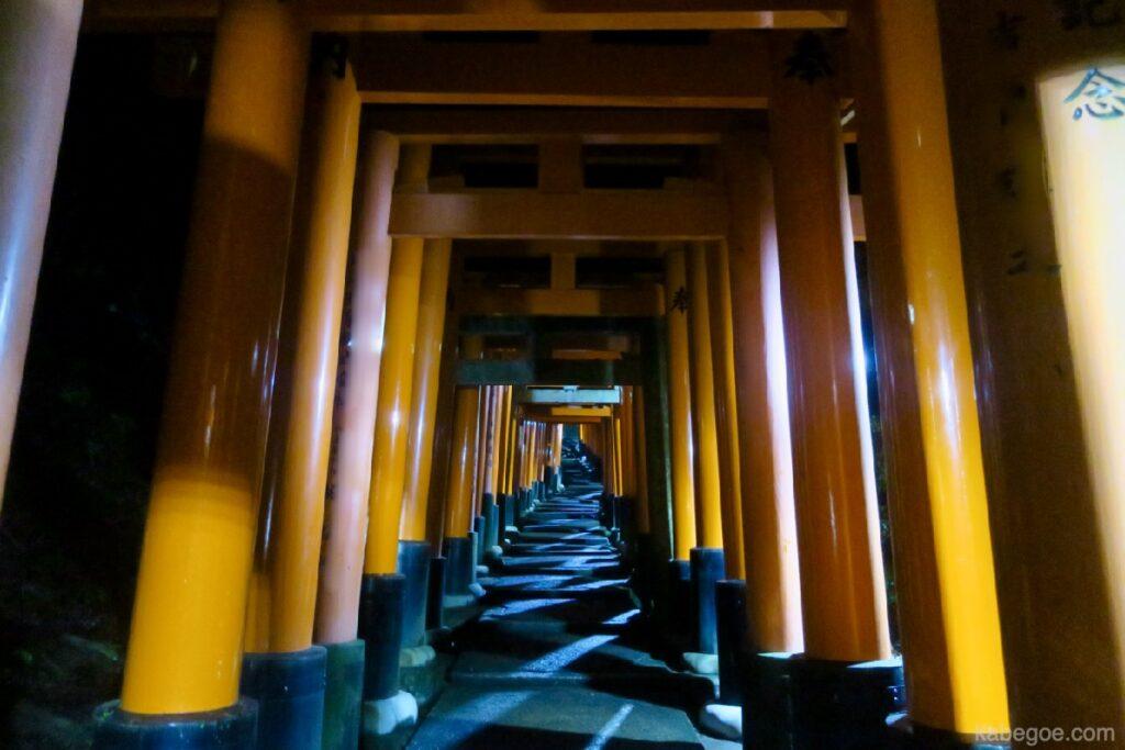 Significato di Senbon Torii del Santuario di Fushimi Inari Taisha
