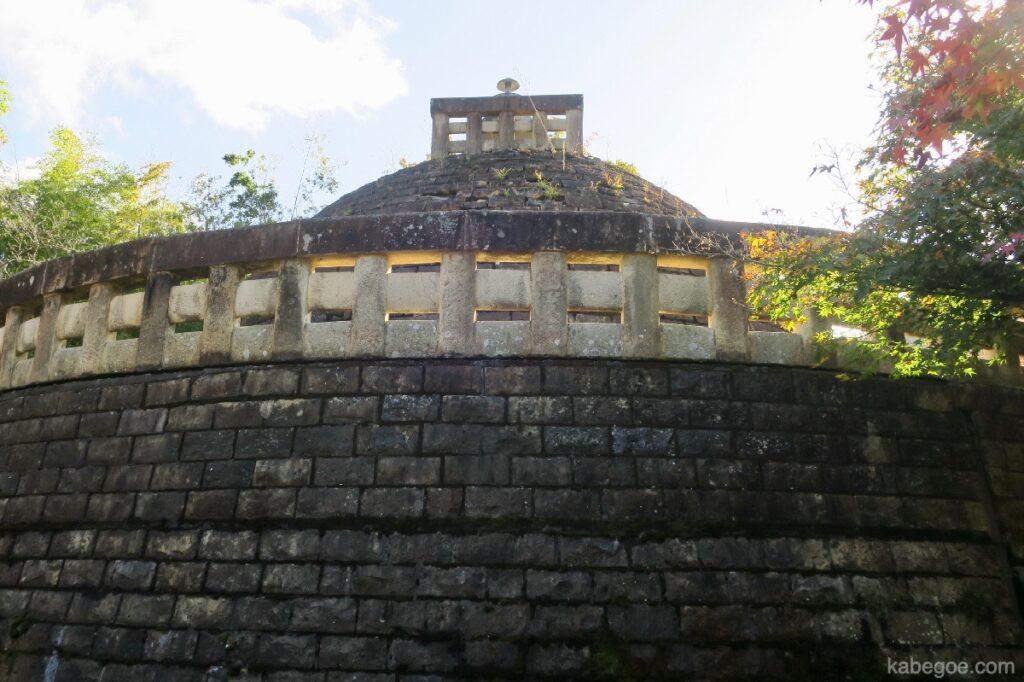 Stupa Kuil Adashino Nenbutsuji