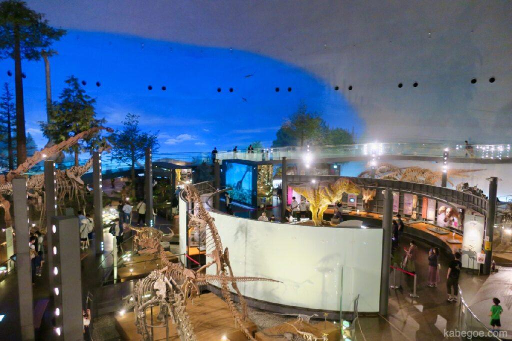 Pemandangan Museum Dinosaurus Fukui