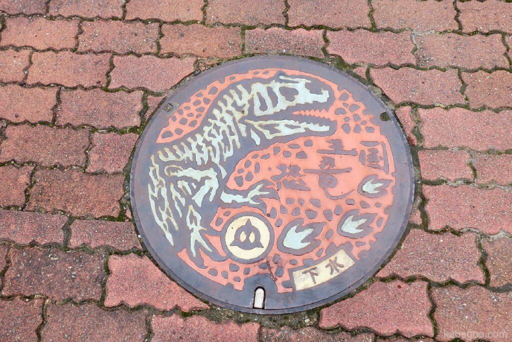 Фукуй үлэг гүрвэлийн музейн нүх