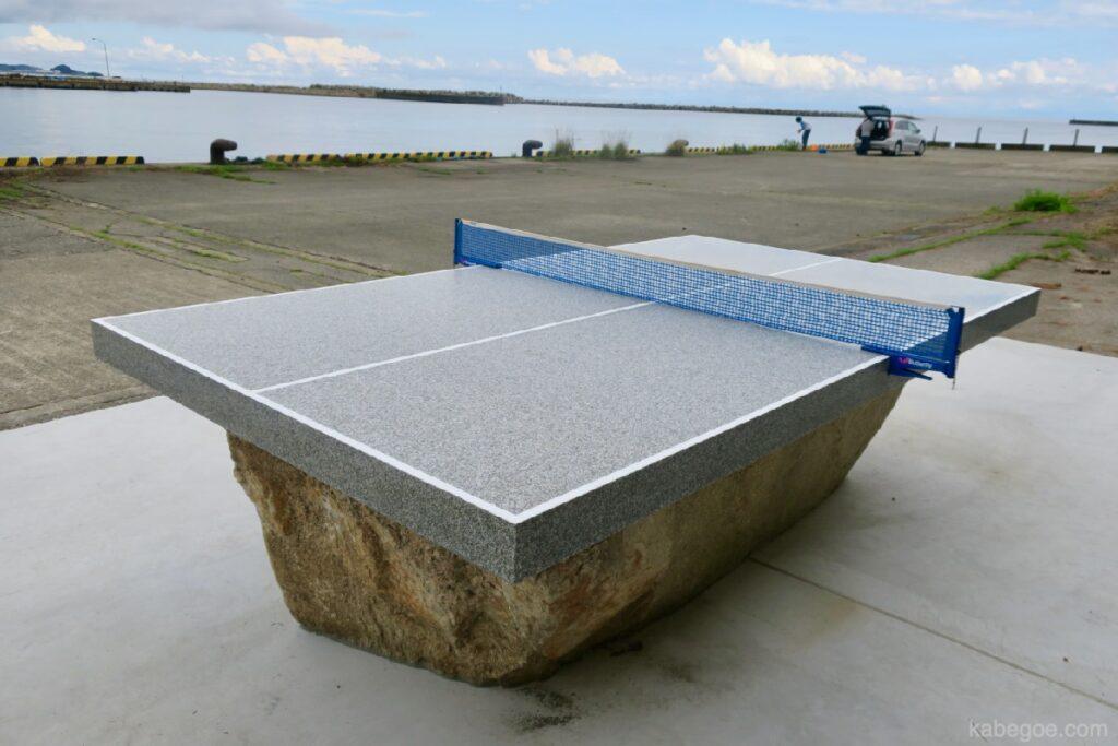 """""""Чулуун ширээний теннисний ширээ No3"""" Оку Ното олон улсын урлагийн наадамд Катсуми Асаба"""