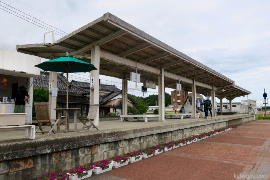 Окуното олон улсын урлагийн наадамд замын хажуугийн буудал Сузунари